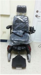 Sunfire Plus EC Power Rear Wheel Drive Wheelchair
