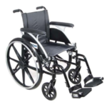 14in Viper Wheelchair Flip Arm Legrest